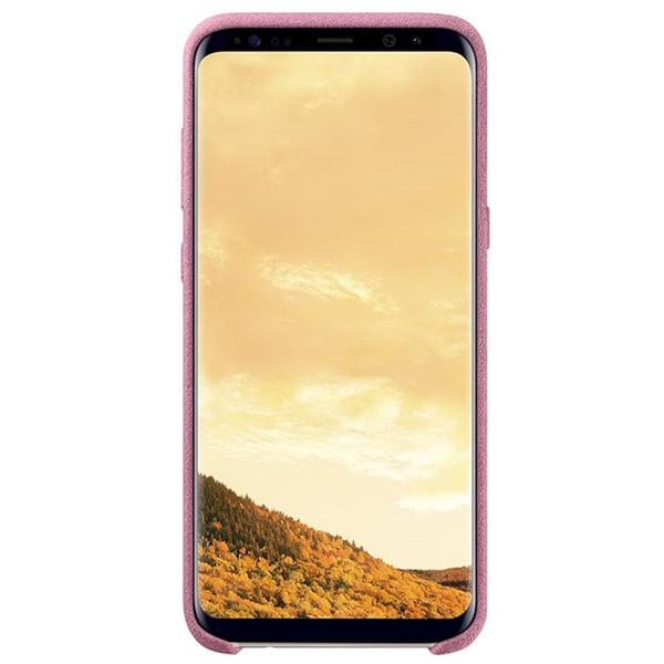 Carcasa Alcantara pentru SAMSUNG Galaxy S8 Plus, EF-XG955APEGWW, Pink