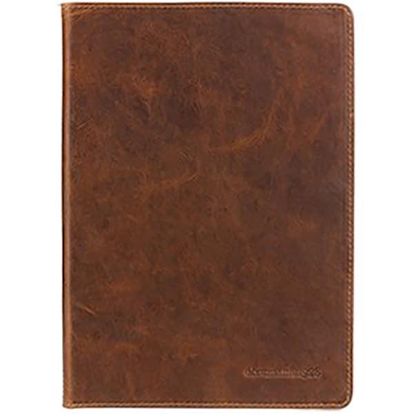 Husa Book Cover pentru Apple iPad (2017), DBRAMANTE1928, 159497, piele, maro