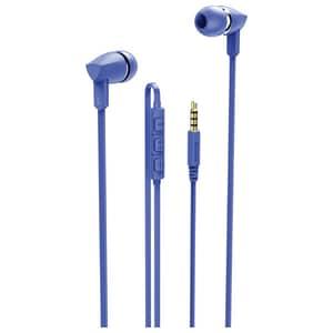 Casti HAMA Basic+ 137441, Cu Fir, In-ear, Microfon, albastru