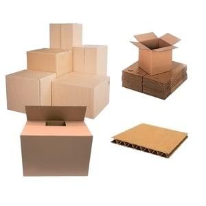 Cutie de arhivare RTC, 600 x 400 x 400 mm, carton, 10 bucati, maro