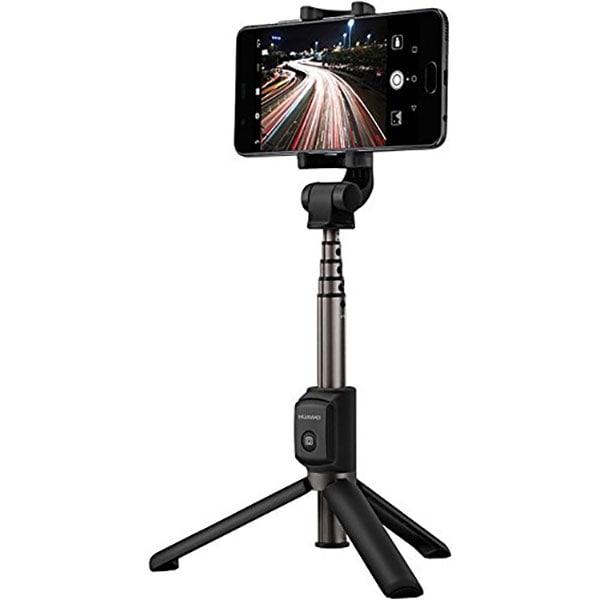 Selfie stick cu trepied HUAWEI AF15, wireless, Negru