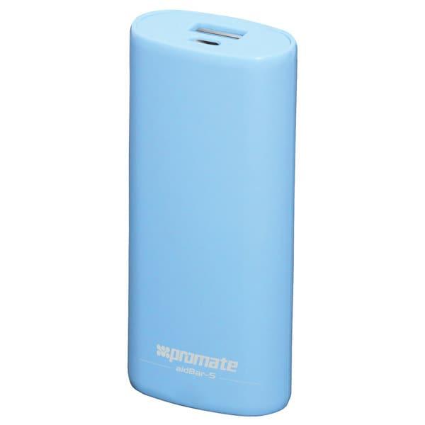 Baterie externa PROMATE aidBar-5, 5200mAh, 1xUSB, Blue