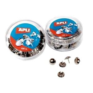 Pioneze zincate APLI, 50 bucati/cutie