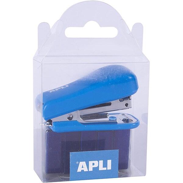 Capsator APLI AL014940, Nr. 10, 20 coli, albastru