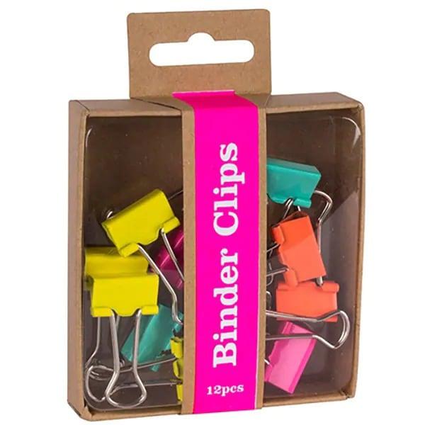Clipsuri APLI, 12 bucati/cutie, diverse culori