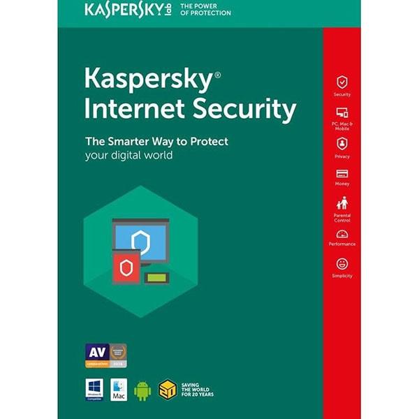 KASPERSKY Internet Security 2019, 1 an, 3 utilizatori