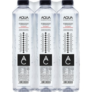 Apa plata AQUA CARPATICA bax 1.50L x 6 sticle