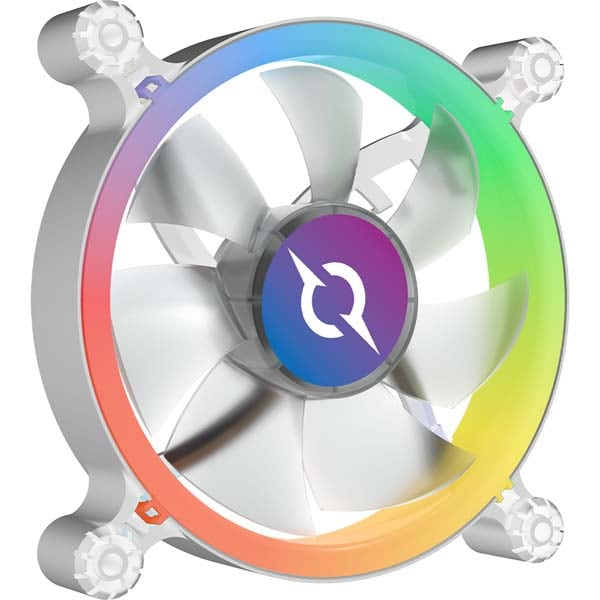 Ventilator AQIRYS Cetus, 120mm, 6P-12SLI15W-RGB