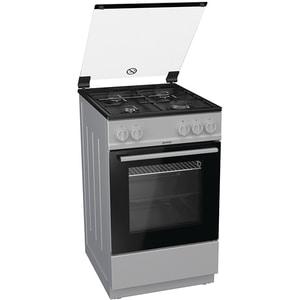 Aragaz GORENJE G5111SJ, 4 arzatoare, gaz, L 50 cm, negru-argintiu