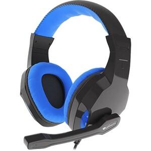 Casti Gaming NATEC Genesis Argon 100, stereo, 3.5mm, negru-albastru