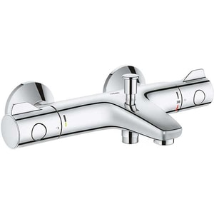 Baterie cada-dus GROHE Grohtherm 800 34567000, termostat, metal, crom