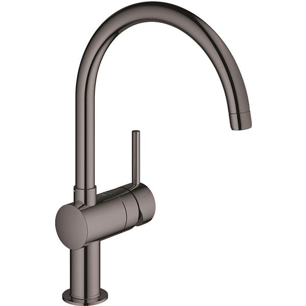 Baterie bucatarie GROHE Minta 32917A00, metal, antracit