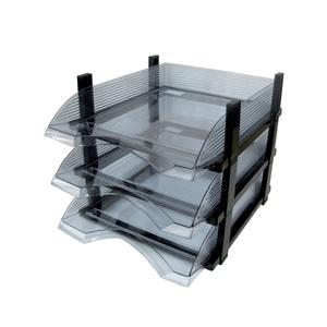 Set 3 tavite FLARO plastic, transparent