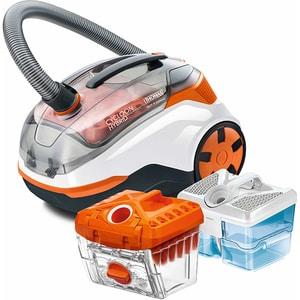 Aspirator cu filtrare prin apa THOMAS Cycloon Hybrid Pet&Friends 786550, 1.8l, 1400W, portocaliu-alb