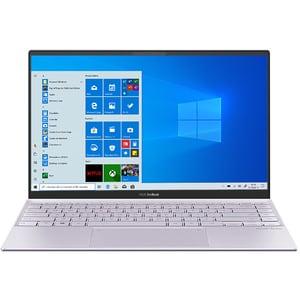 "Laptop ASUS ZenBook 14 UM425IA-AM034T, AMD Ryzen 5 4500U pana la 4.0GHz, 14"" Full HD, 16GB, SSD 512GB, AMD Radeon Graphics. Windows 10 Home, Liliac Mist"