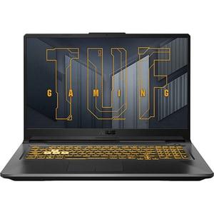 "Laptop Gaming ASUS TUF A17 FA706QR-HX004, AMD Ryzen 7 5800H pana la 4.4GHz, 17.3"" Full HD, 16GB, SSD 512GB, NVIDIA GeForce RTX 3070 8GB, Free DOS, gri inchis"
