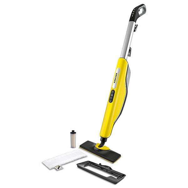 Mop cu aburi KARCHER SC 3 Upright Easyfix, 0.5l, 1600W, galben-negru