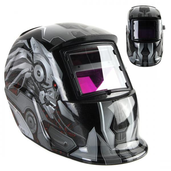 Masca sudura cu cristale lichide INTENSIV Transformers 9-13, 2 senzori, vizor 92 x 42mm, sudura 5-400A
