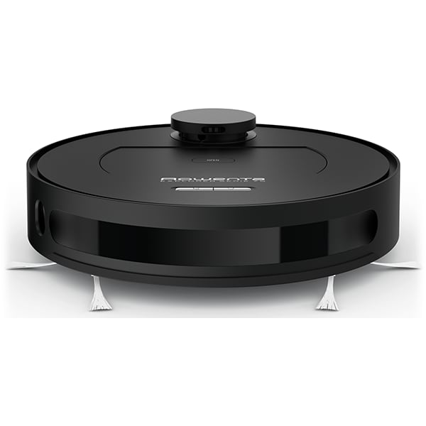 Aspirator robot ROWENTA X-Plorer Serie 75 Animal Care RR7675WH, 0.4l, autonomie max 150 min, Navigatie laser, functie mop, negru