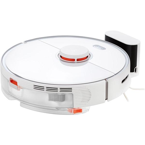 Aspirator robot ROBOROCK Cleaner S5 Max, 0.46l, 14.4V, autonomie max 190 min, Wi-Fi, Navigare Lidar, functie mop, alb