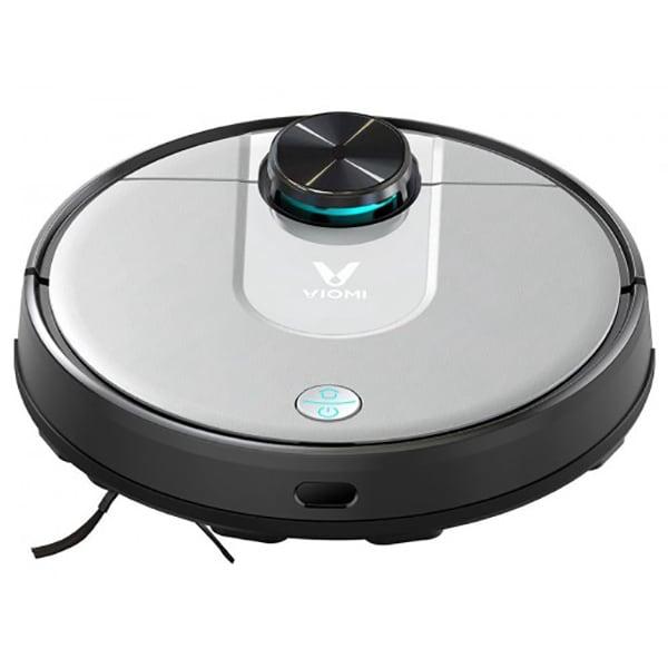 Aspirator robot VIOMI V2 Pro 85081100, 0.55l, 33W, autonomie max 130 min, Laser LDS, argintiu-negru