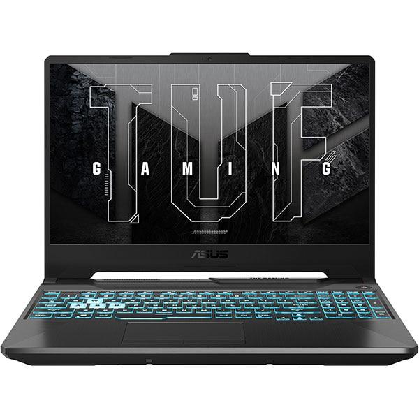 "Laptop Gaming ASUS TUF A15 FA506QM-HN008, AMD Ryzen 7 5800H pana la 4.4GHz, 15.6"" Full HD, 16GB, SSD 512GB, NVIDIA GeForce RTX 3060 6GB, Free DOS, negru"
