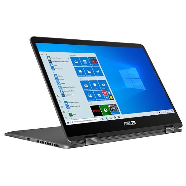 "Laptop 2 in 1 ASUS ZenBook Flip UX461UN-E1006T, 14"" Full HD Touch, Intel Core i5-8250U pana la 3.4GHz, 8GB, SSD 256GB, NVIDIA GeForce MX150 2GB, Windows 10 Home"