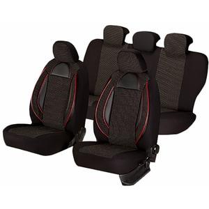 Set huse scaune UMBRELLA Racing 44487, negru