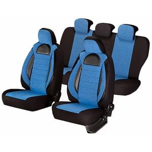Set huse scaune UMBRELLA Racing 44491, albastru