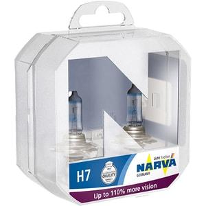 Bec auto halogen pentru far NARVA Range Power, +110%, H7 12V, 55W, PX26d, 2 bucati