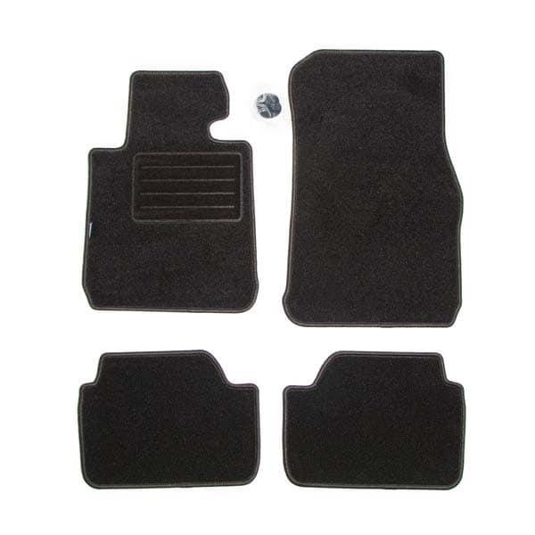 Set covorase auto PETEX BMW Seria 1, F20, F21, Seria 2 Coupe F22, 2011- Prezent, textil, 4 bucati