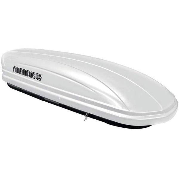 Cutie portbagaj MENABO Mania 320 White, 320l, alb