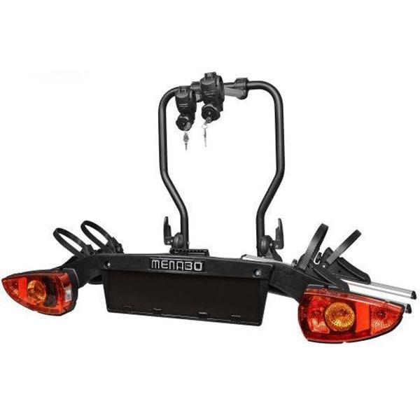 Suport biciclete MENABO Sirio, Prindere pe carlig de remorcare, 2 biciclete