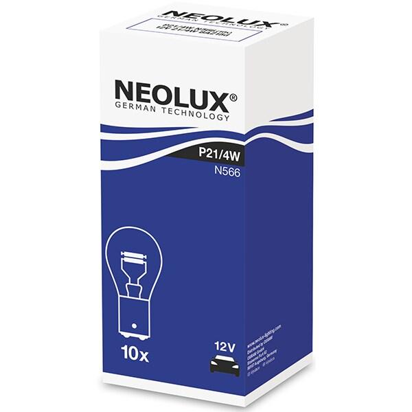 Set 10 becuri Halogen NEOLUX N566, P21/4W, 21W/4W, 12V
