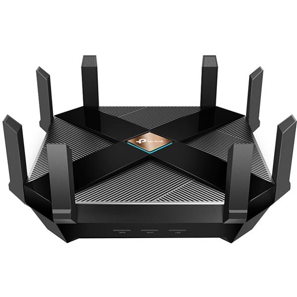 Router Wireless Gigabit TP-LINK Archer AX6000, Dual-band 1148 + 4804 Mbps, negru