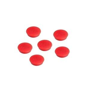 Magneti A-SERIES, 13 mm, 10 bucati, rosu