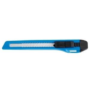 Cutter mic A-SERIES, 9 mm, otel inoxidabil, albastru