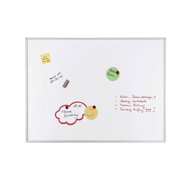 Tabla magnetica FRANKEN, 90 x 120 cm, alb