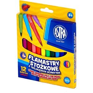 Markere colorate ASTRA, 12 culori