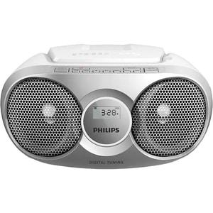 Radio CD portabil PHILIPS AZ215S/12, 3 W, FM, argintiu