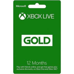 Xbox Live Gold - Abonament 12 luni