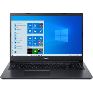 "Laptop ACER Aspire 3 A315-56-35LD, Intel Core i3-1005G1 pana la 3.4GHz, 15.6"" Full HD, 8GB, SSD 512GB, Intel UHD Graphics, Windows 10 Home, negru"