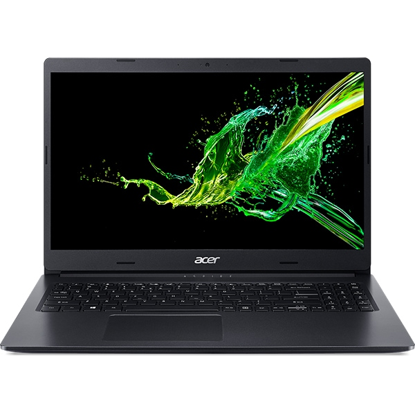 "Laptop ACER Aspire 3 A315-56-37LG, Intel Core i3-1005G1 pana la 3.4GHz, 15.6"" Full HD, 8GB, SSD 256GB, Intel UHD Graphics, Free DOS, negru"