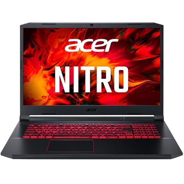 "Laptop Gaming ACER Nitro 5 AN517-52-7381, Intel Core i7-10750H pana la 5.0GHz, 17.3"" Full HD, 16GB, SSD 1TB, NVIDIA GeForce RTX 2060 6GB, Free DOS, negru"