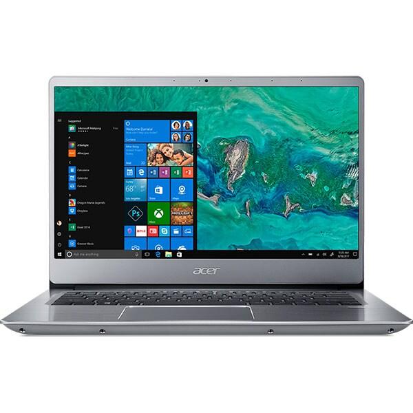 "Laptop ACER Swift 3 SF314-56-56X3, Intel Core i5-8265U pana la 3.9GHz, 14"" Full HD, 8GB, SSD 256GB, Intel HD Graphics 620, Windows 10 Home, Sparkly Silver"