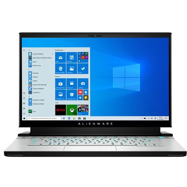 "Laptop Gaming DELL Alienware M15 R4, Intel Core i7-10870H pana la 5.0GHz, 15.6"" Full HD, 16GB, SSD 512GB, NVIDIA GeForce RTX 3070 8GB, Windows 10 Pro, gri"