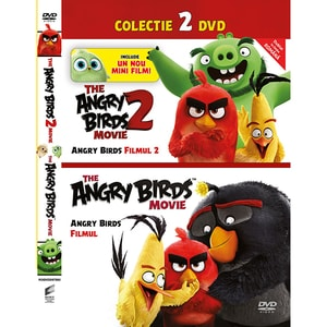 Angry Birds 1 si 2 Filmul DVD