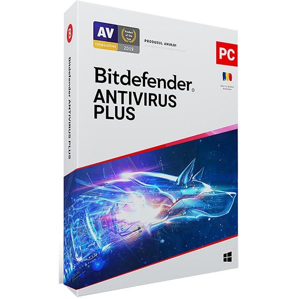 BITDEFENDER Antivirus Plus 2020, 1 an, 1 PC