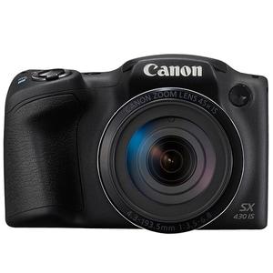 Aparat foto digital CANON PowerShot SX430 IS, 20MP, HD, Wi-Fi, NFC, negru