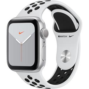 APPLE Watch Nike Series 5 40mm Silver Aluminium Case, Pure Platinum/Black Nike Sport Band